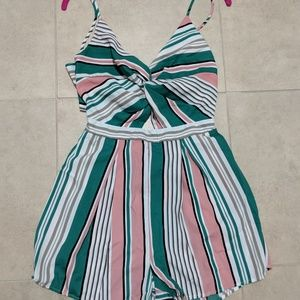 Pants - Stripe romper